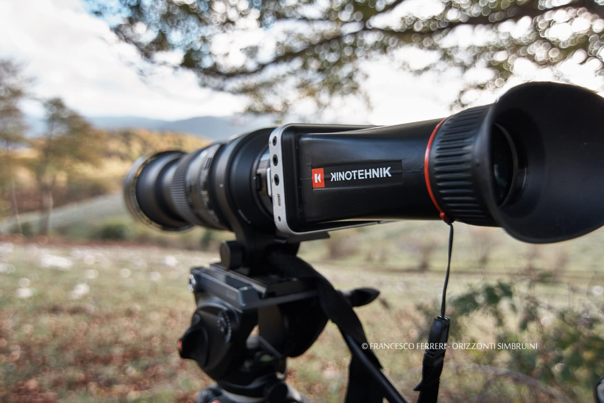 Un setup sobrio: Blackmagic Pocket Cinema Camera + Sigma 150-600mm
