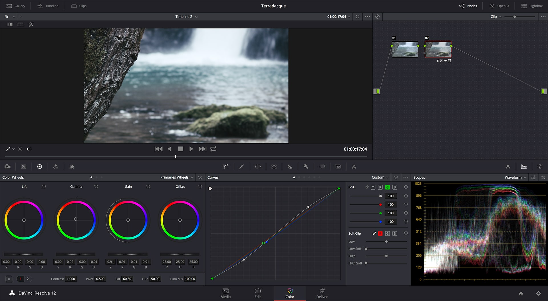 Editing dei file della Blackmagic Pocket Cinema Camera in DaVinci Resolve